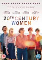 20th Century Women DVD (2017) Annette Bening, Mills (DIR) cert 15 ***NEW***