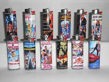 More details for 12 x 007 film poster bic lighters - unused ltd edition set from 1999