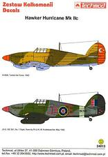 Techmod Decals 1/24 HAWKER HURRICANE Mk.IIc British Fighter