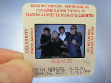More details for original press photo slide negative - blondie - debbie harry - 1999 - g