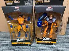 Marvel Legends lot wolverine and sabretooth from apocalypse wave X MEN LEGENDS