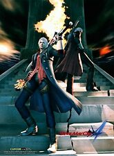 CWS Media Group Devil May Cry 4 Wall Scroll Poster