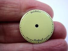 Ernest Borel Kaleidoscope Mens Vintage Watch Dial for Coctail Watch 20mm Cream