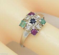 Natürliche Echtschmuck-Ringe Diamant 16,2 mm (51-100 Ø)