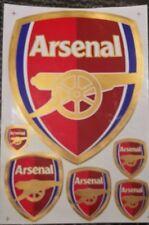 FC Arsenal London   Aufkleberset 6 teilig 260mm x 180mm 6 Aufkleber