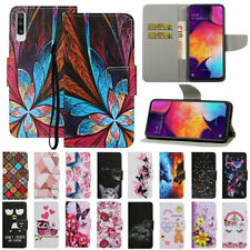 For Samsung A10S A20S A30S A50S A70 Pattern Leather Flip Stand Wallet Case Cover