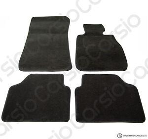 BMW 3 Series E90 E91 2005-2012 Tailored Carpet Car Floor Mats Black 4pc Set