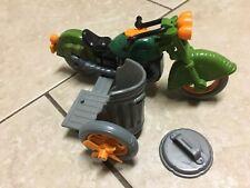 Vintage TMNT Ninja Turtles 1989 Turtle Cycle Near Complete
