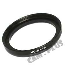 40.5-46mm Step-Up SLR Lens Metal Adapter Ring with UltraPro Microfiber Cloth