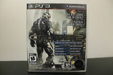 Crysis 2: Limited Edition  (Sony Playstation 3, 2011) *Tested/Complete