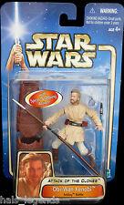 Star Wars Attack of the Clones OBI-WAN KENOBI Acklay Battle Rare! New! McGregor