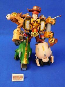 Toy Story Combination Woody Robo Sheriff Star Chogokin by Bandai Rex