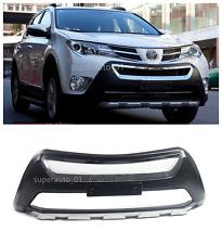Chrome Silver Front Bumper Sill Protector Cover For 2013-2015 Toyota RAV4 RAV 4