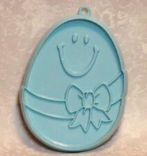 Hallmark Vintage Pliable Plastic Cookie Cutter Flowered Easter Egg Hunt Basket