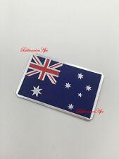 Australian National Flag Aussie Sticker metal Car Bike Boat Badge chrome Badge