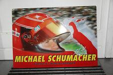Metall Schild Michael Schumacher Formula 1 World Champion 56x40cm Rarität