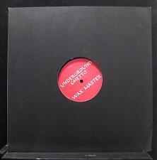 "Wax Master Maurice - Underground Ghetto 12"" VG+ DM 152 Chicago House Record"