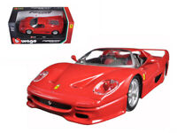 Ferrari F50 Red 1:24 Diecast Model - 26010RD *