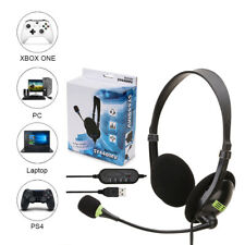 Universal Comfortable Stereo Gaming Headset USB/3.5mm For Laptop PC PS4 Earphone