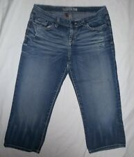 Buckle BKE Kate Stretch Distressed Capri Jeans Size 29