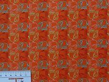 Sale 8,09€/m² => 100cmx110cm: ELEFANT - Orange - Patchworkstoff - Free Spirit