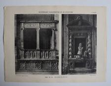 NARBONNE Eglise Tombeau ARCHITECTURE Sculpture PHOTO 1910