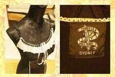 [L20] Wheels & Doll Baby Sydney Black Form Fitting Pencil Dress Size 2 / 10AU