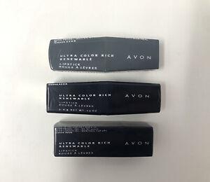 Vintage Avon Ultra Color Rich Renewable Lipstick NOS Sealed - CHOOSE YOUR SHADE
