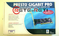 Sonnet GE1000-LA Presto Gigabit Pro 32 bit PCI 1x 10/100/1000 Auto-MDI/MDI-X