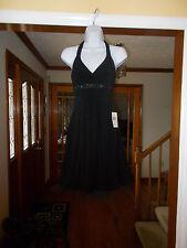 Little Black Dress - Empire Waist - Halter by Jodi Kristopher - Size S