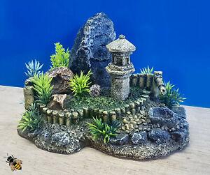 Zen Garden Rock Aquarium Ornament Fish Tank Bowl Decoration