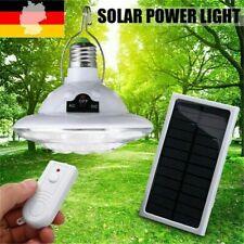 20W LED Solar Glühbirne Zelt-Camping-Lampe Solarleuchte Garten Außen-Beleuchtung