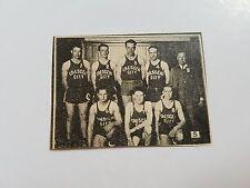 Crescent City California All Stars 1930-31 Basketball Mini Team Picture