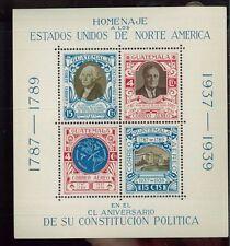 Guatemala Souvenir Sheet - # C92 Mnh, Vf - Fos100