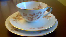 Limoges Teacup and Saucer and Dessert Plate