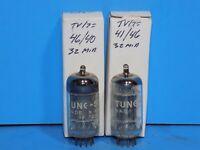 PAIR TUNG SOL  12AX7 ECC83 TUBES
