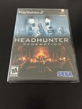 PS2 Headhunter: Redemption (Sony PlayStation 2 Game NEW Factory Sealed