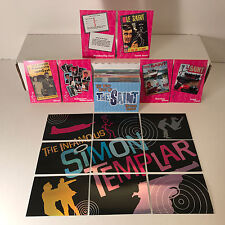 The Very Best of THE SAINT Base Card Set w/ ALL 15 Foil CHASE Simon Templar