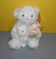RBI Polly & Patch Mommy & Baby Cub Teddy Bears Plush Ring Gift Box Stuffed Plush