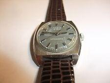 original DDR Kult UMF Ruhla de Luxe Uhr Herren Armbanduhr Handaufzug läuft