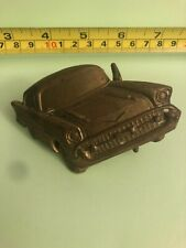 Baron Buckle Solid Brass Vintage 1978 Style 50s Car Belt Buckle A2