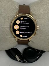 Michael Kors Gen 4 Genuine Smart Watch fully working Custom Band MKT5046 ZA94