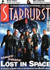 WoW! Starburst #235 Lost In Space! Godzilla! The Postman! Mortal Kombat 2!