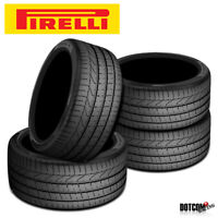 4 X New Pirelli PZero 295/40R21 111Y Summer Sports Performance Traction Tires