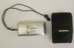 Olympus Infinity Stylus Epic Zoom 80 Deluxe 35mm Film Point & Shoot Camera