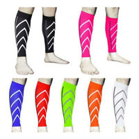 Sport Leg Wrap Guard Calf Sleeve Support Knee Stretch Compression Socks Running