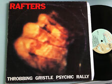 LP 1982 ITALY    Throbbing Gristle ‎– Rafters Label: Italian Records