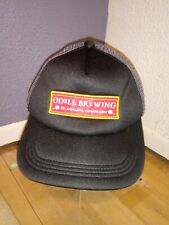 Odell Brewing Company Colorado Mesh Back Trucker Hat Black/Gray Snap Back