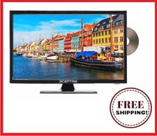 "LED TV 19"" Class 720P HDTV with Built-in DVD Player Wall-Mountable 60Hz, HDMI"