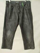 F1110 Avirex Gray Killer Fade Jeans Men's 36x29